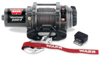 Electric winch - Warn Vantage 2000-s (rated line pull: 907 kg)
