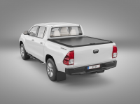 Roll-cover (MT) - one and half cabin - black - Isuzu D-Max (2012 - 2017 -)