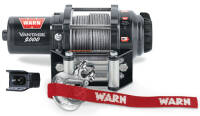 Electric winch - Warn Vantage 2000 (rated line pull: 907 kg)