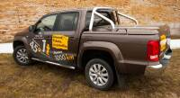 Tonneau cover with roll-bar - Volkswagen Amarok (2009 - 2016 -)