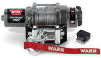 Electric winch - Warn Vantage 3000 (rated line pull: 1361 kg)