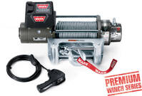 Electric winch - Warn XD9000 (rated line pull: 4080 kg)