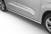 Stainless steel side bars (L2) - Toyota ProAce City Verso & Furgon (2019 -)