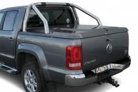Tonneau cover (ABS) compatible with OE roll-bar - Volkswagen Amarok (2009 - 2016 -)