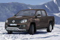 EC Low spoiler bar with axle-plate - Volkswagen Amarok (2009 - 2016)