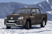 EC low spoiler bar with axle-bar - Volkswagen Amarok (2009 - 2016)