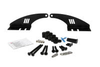 Roof Mounting Kit for LAZER T24 Evolution - Ford Ranger (2016 -) with roof rails - 57 mm Height