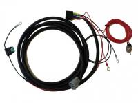 Wiring harness for fitting one Lazer lamp (series T-16, T-24) - with a switch