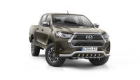 Front cintres pare-buffle avec grill - Toyota Hilux (2021 -)