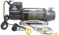 Electric winch - Tiger Shark 9500 SR (rated line pull: 4309 kg)