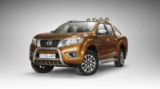 "EC ""A"" bar with cross bar and axle-bar - Nissan Navara (2015 -)"