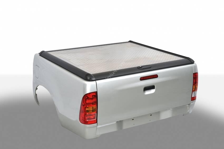 Aluminum Tonneau Cover One And Half Cabin Toyota Hilux 2015 2018 Steeler4x4 Com Online Shop