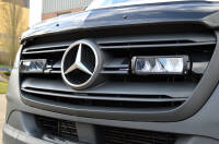 Grille Kit - LAZER TRIPLE-R 750 with Position Light - Mercedes Sprinter (2018-)